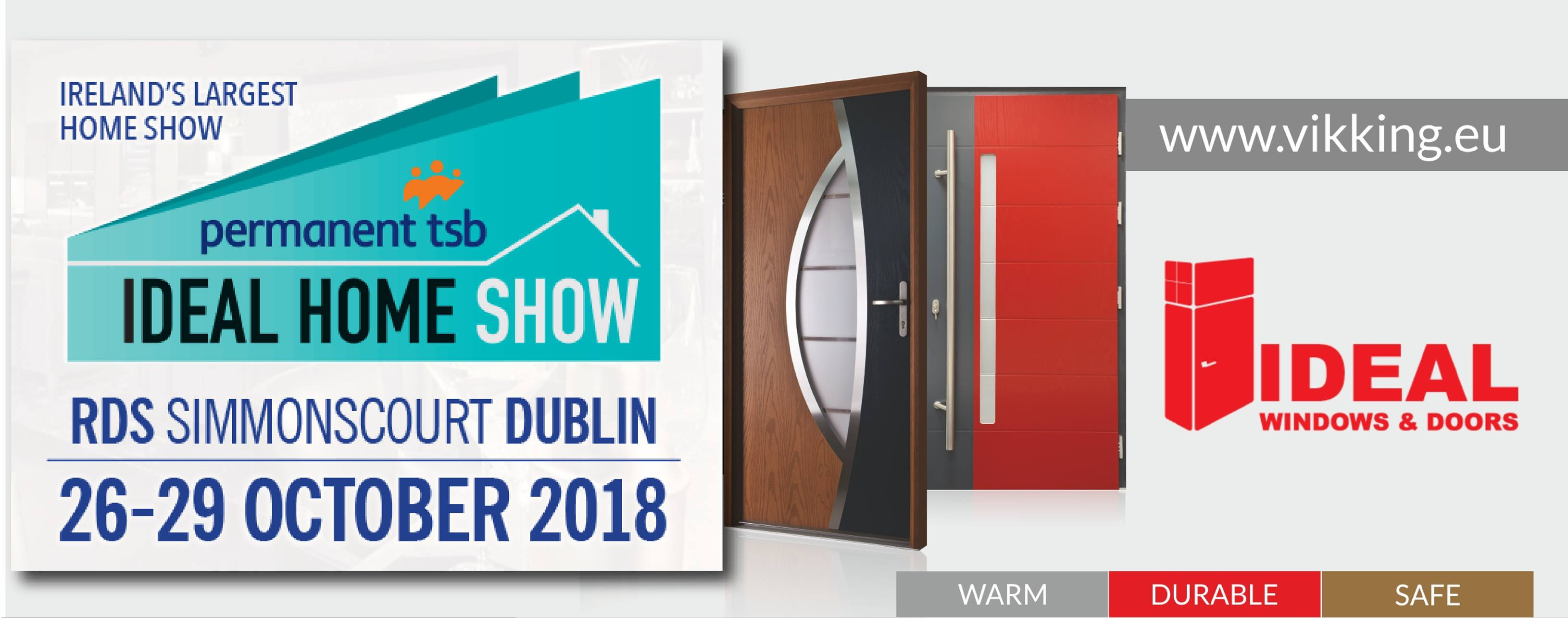 Podbijamy Irlandię na IDEAL HOME SHOW